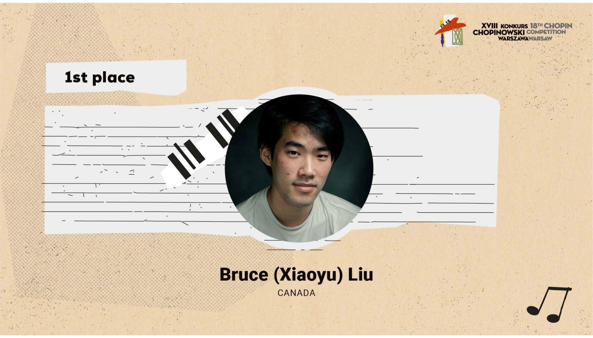 winner Bruce Liu